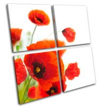 Poppies Flower Floral - 13-0814(00B)-MP01-LO